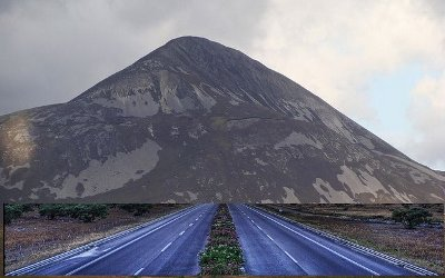 Artist's impression: The Donegal-to-Dublin motorway
