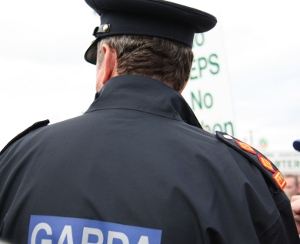 Photo: Garda on patrol