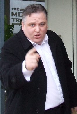 Photo of Frank McBrearty Junior at the Morris Tribunal