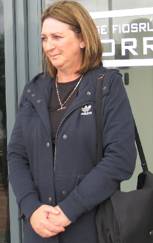 Photo of Katrina Brolly at the Morris tribunal