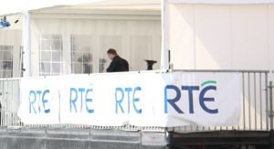 Photo: RTÉ outside broadcast unit
