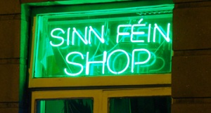 Photo: Sinn Féin giftshop