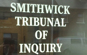 Photo of Smithwick tribunal