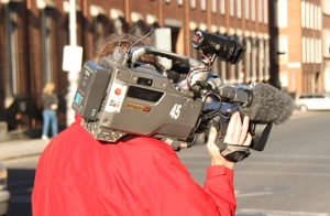 Photo of  tv cameraman